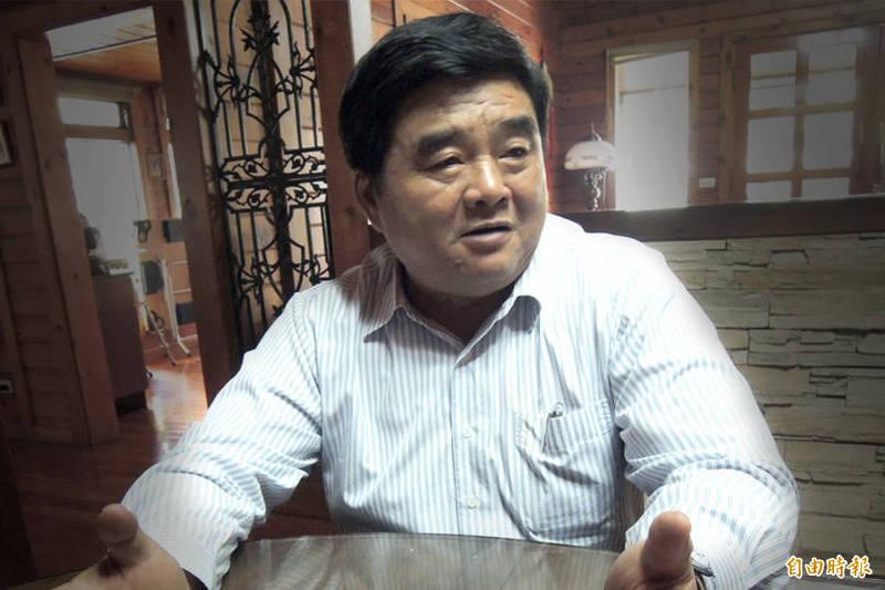 前雲林縣長張榮味(見圖)5月31日假釋出獄。(資料照;本報合成)