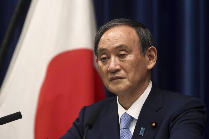 日本首相菅義偉在COVAX全球疫苗峰會中表示,將提供8億美元(約合台幣223億元)支援,並透過COVAX將日本已確保的3000萬劑疫苗提供給其他國家和地區。(美聯社)