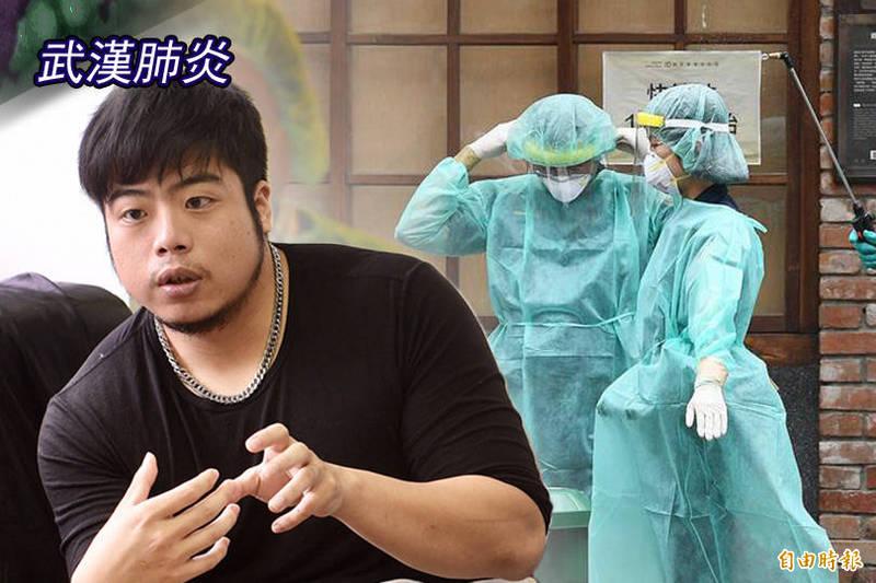作家陳茻(左)表示,母親確診後「鬼門關前走一遭」,所幸最後康復。對此,他也特地「向台灣的醫護人員致上最深的謝意與敬意」。(資料照;本報合成)