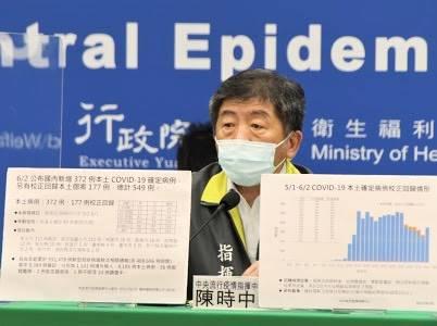 中央流行疫情指揮中心今天公布一名男子施打AZ疫苗後出現血栓不良反應,是國內首例。(指揮中心提供)