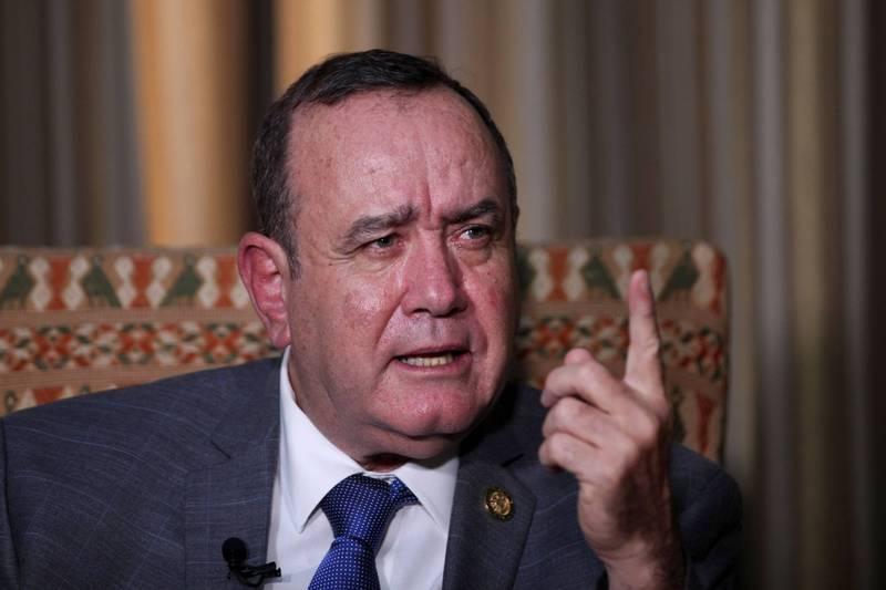 瓜地馬拉總統賈麥岱(Alejandro Giammattei)說,基於對長期盟友台灣的忠誠,他的政府不會尋求與北京建立關係。(路透)