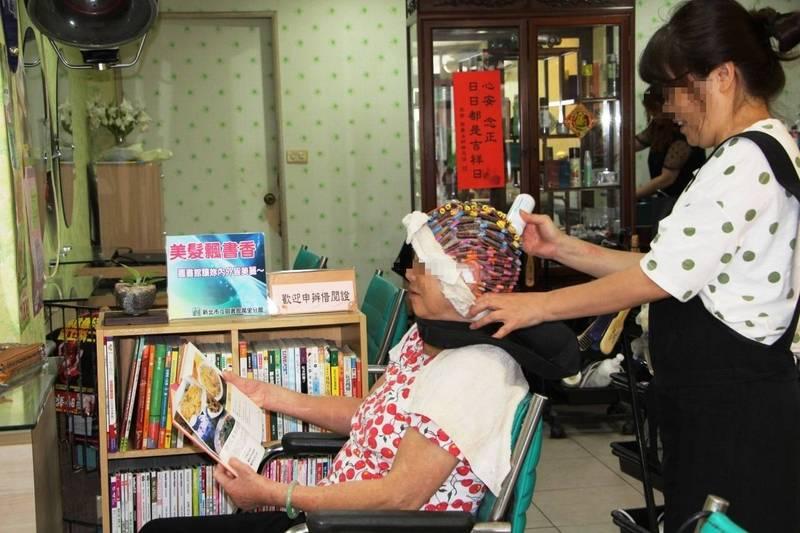 北市府與台北市女子美容同業公會討論研訂美容美髮業營業防疫指引。示意圖。與新聞事件無關。(資料照)