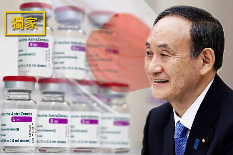 日本AZ疫苗現貨124萬劑 4日全部送台