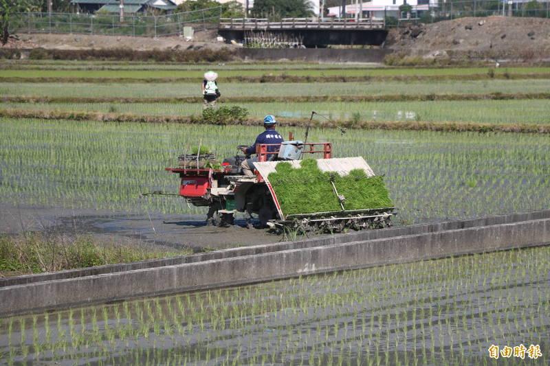 中央「紓困4.0」部分款項今天進到民眾戶頭,其中包含宜蘭縣的農民。(記者蔡昀容攝)