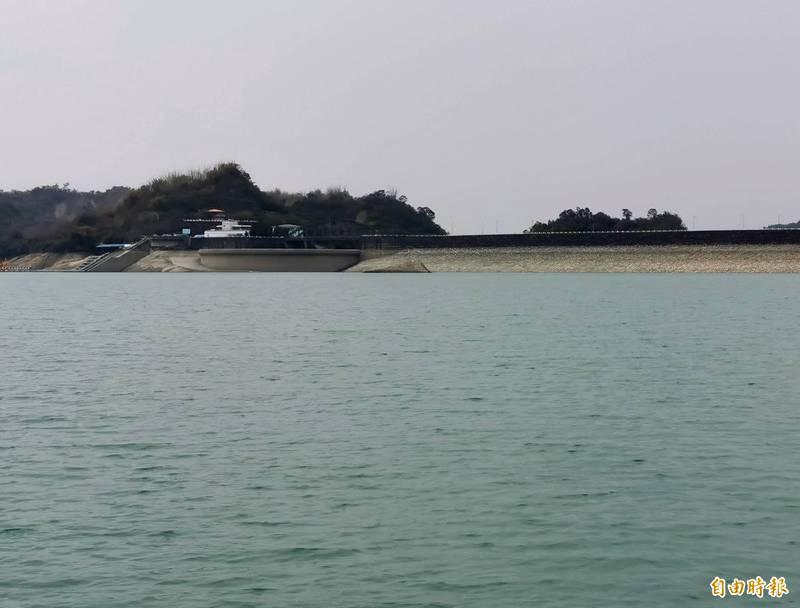 上游降雨豐沛,南化水庫蓄水率回升至3成以上。(記者吳俊鋒攝)
