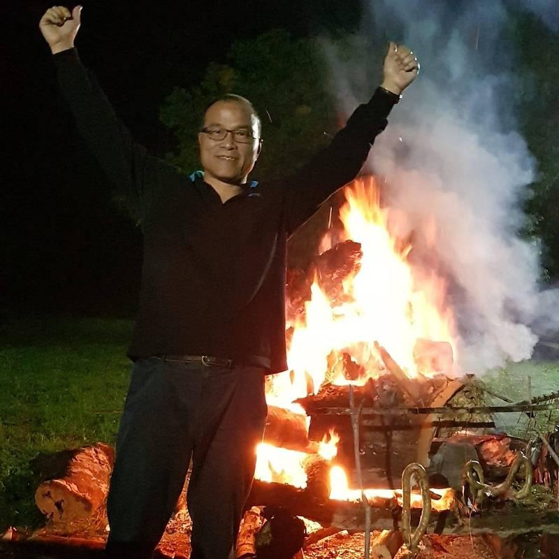 前高市副市長葉匡時今指出,去年今天被罷免,不知是否我們做的太超前,所以被罷免?(記者王榮祥翻攝)