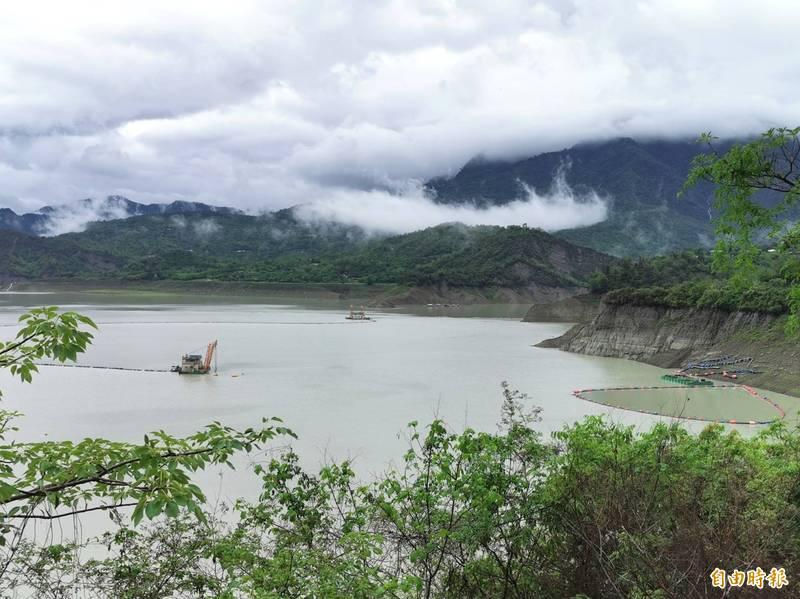 逕流係數提高,曾文水庫上游不到40毫米的降雨,卻預估會有逾800萬公噸的進帳。(記者吳俊鋒攝)