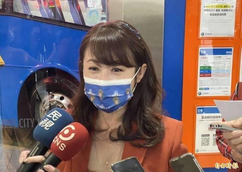 台北市議員許淑華針對柯文哲的「繳回說」發表看法。(資料照)