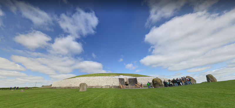 考古學者指出,該古墓所提供的資訊,足以推斷新石器時代的人類已有「喪葬儀式 。」(圖翻攝自Google Maps)