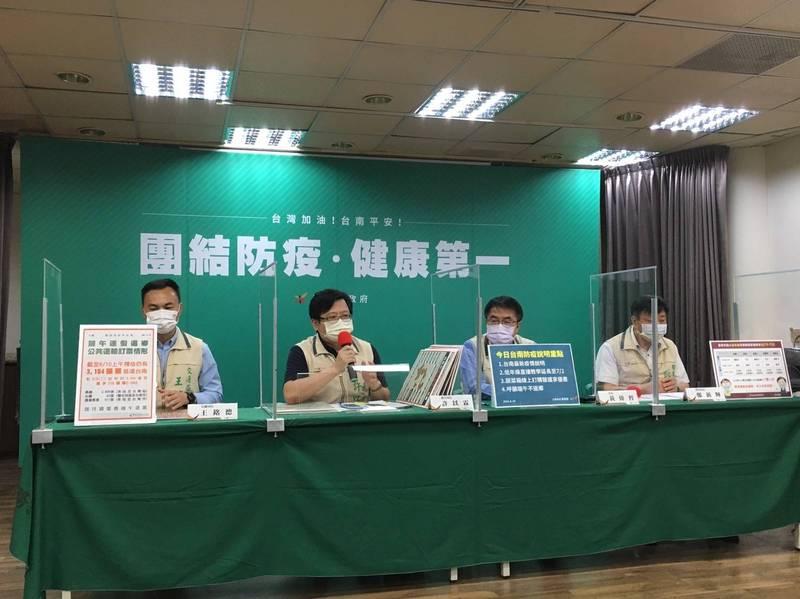 返回台南確診黑數初估40人 黃偉哲籲自主前往篩檢