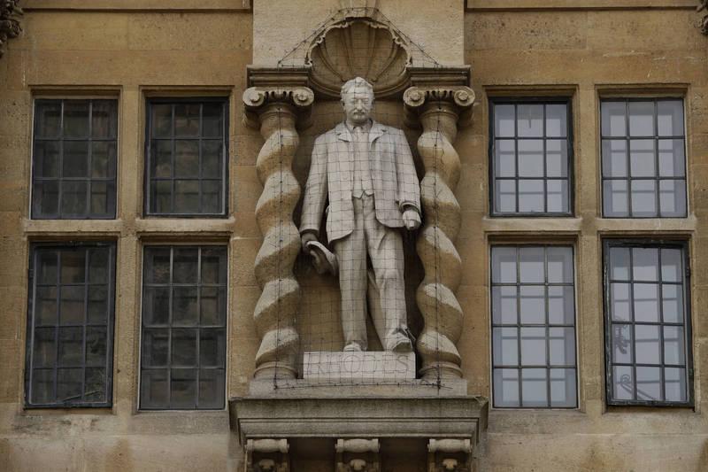 牛津大學保留殖民者雕像 150教師抵制拒輔導學生