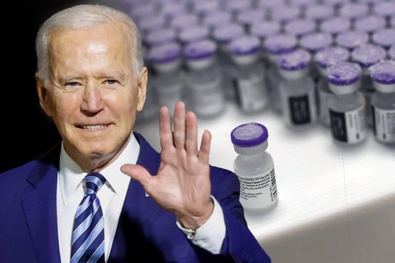 美国总统拜登告诉媒体,他制订了一项全球疫苗策略,并将在未来宣布这项计画。(本报合成)(photo:LTN)