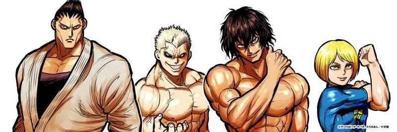 由日本漫畫家創作的格鬥漫畫《拳願阿修羅》(圖)被小粉紅認證辱華,還翻出作者舊作找碴。(翻攝推特「ケンガンアシュラ」公式)