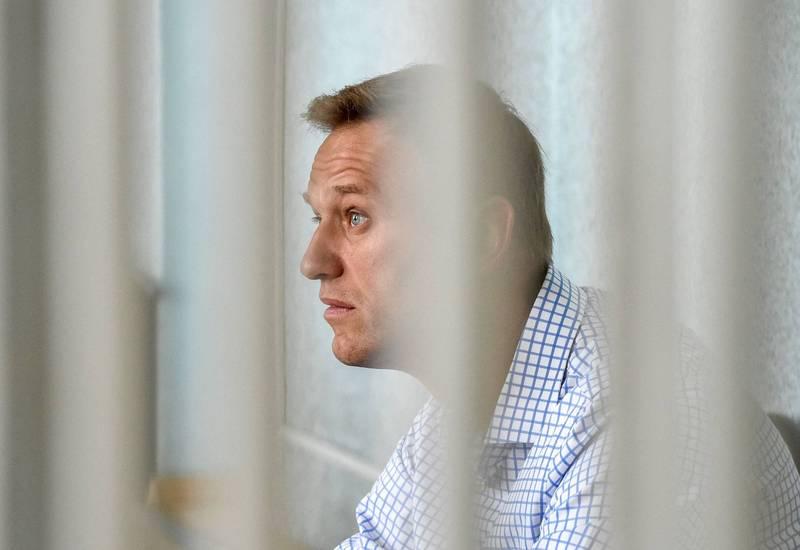 莫斯科法院9日把被囚的反對派納瓦尼(見圖)的政治組織認定為「極端主義」,並禁止他們在俄羅斯運作。(法新社)