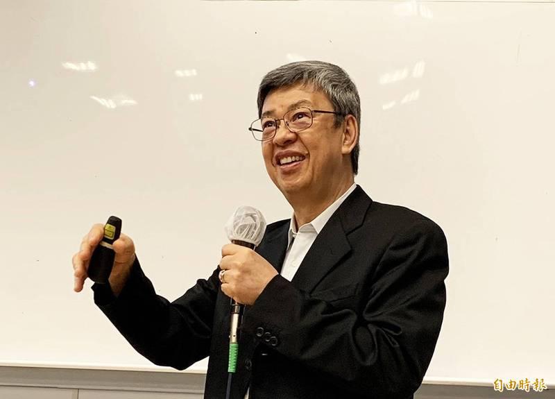 前副總統陳建仁。(資料照,記者李容萍攝)