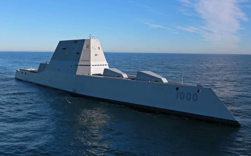 美記者曝美軍將為3艘朱瓦特級驅逐艦加裝高超音速飛彈,一旦台海開戰,戰艦在台灣東部海域就能轟炸中國。圖為美國海軍朱瓦特級驅逐艦。(法新社檔案照)