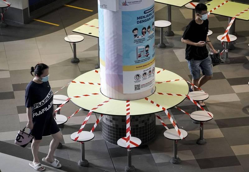 武漢肺炎》新加坡疫情趨緩 下週逐步放寬限制