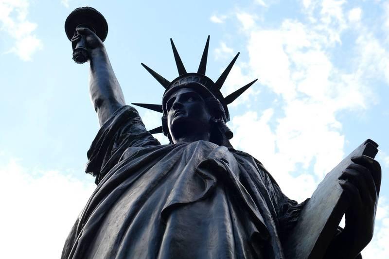 法国运送另一座自由女神像给美国以庆祝独立纪念日。(路透)(photo:LTN)