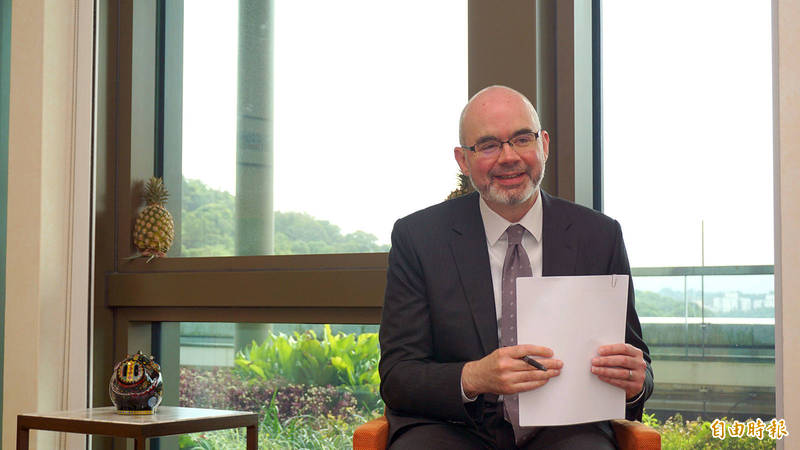 根據共同社報導,AIT副處長谷立言將榮升代理駐日大使。(資枓照)