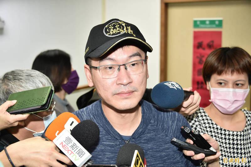 民進黨台北市議員梁文傑。(資料照)