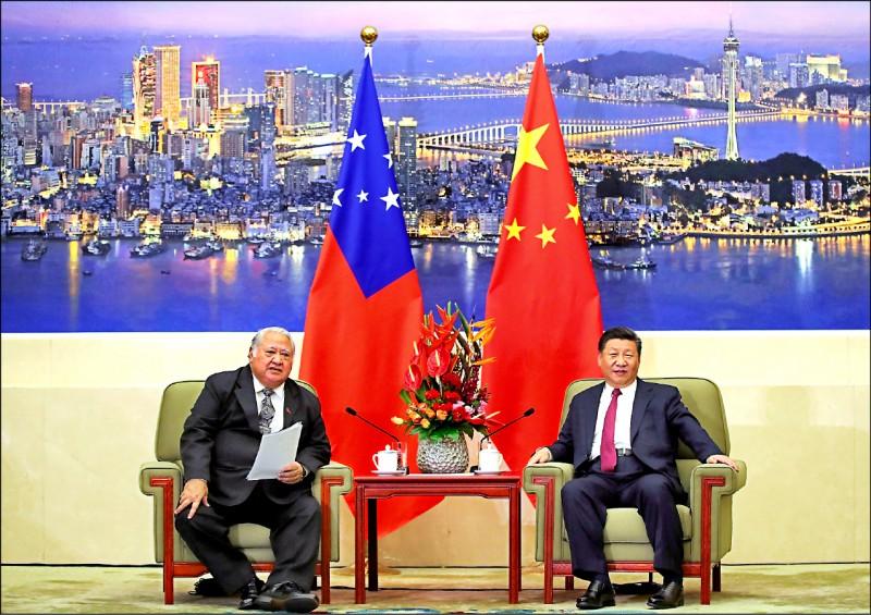 中國近期先後出手援助太平洋島國,引起澳洲、美國政府等外界關注。(路透檔案照)