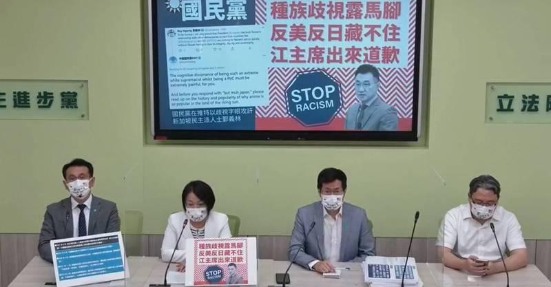 針對台北市長柯文哲稱權貴打疫苗現象是因為疫苗數量不夠,民進黨團砲轟,就算數量充足,也還是需要依照順序施打。(擷取自網路)
