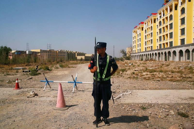 國際特赦組織指控中國在新疆創造一種反烏托邦社會。(路透)