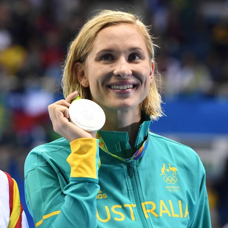 澳洲女泳將格羅夫斯突然宣布退出奧運選拔。(歐新社)