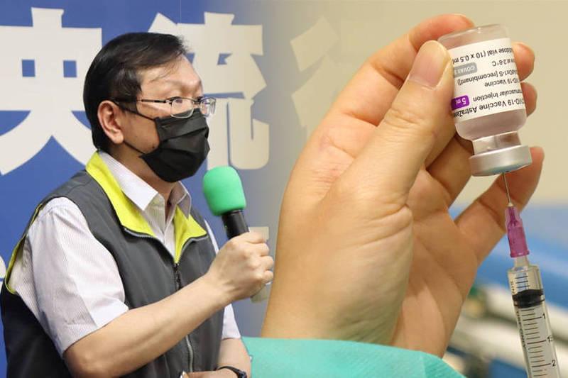 指揮中心發言人莊人祥(見圖)今天晚間表示,已經提前配送,各縣市若提早收到疫苗,最快明天就能開始陸續接種。(資料照、指揮中心提供;本報合成)