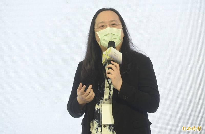 唐鳳辦公室今天下午表示,關於柯市長今天下午在記者會稱,唐鳳有與台北市接洽,表示「疫苗預約系統來不及做好,台北市要自己想辦法」一事,這與事實不符。(資料照)