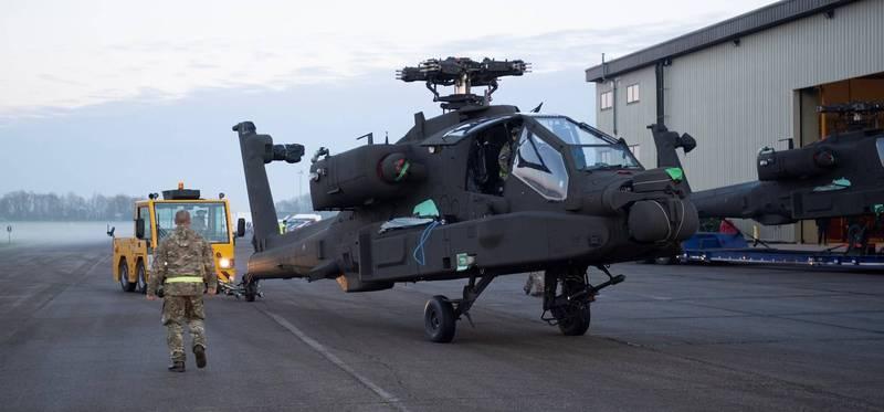 英國陸軍航空隊的AH-64E機隊,未來將搭載「聯合空地飛彈(JAGM)」,而之前呼聲最高的「硫磺石飛彈」,則意外落選。(圖翻攝自英國陸軍官網)