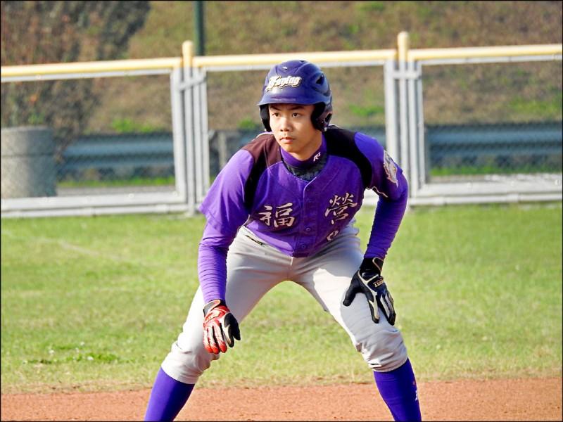 福營國中李玟勳將以公費生身分赴日留學打球。(新北市政府教育局提供)