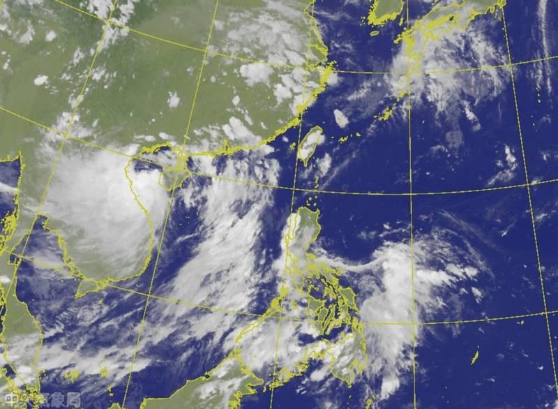 今年第4號颱風「小熊」在今(12)日下午2時生成,未來路徑預測朝西北西方向移動,對台灣暫時沒有影響,但可能導致南海轉盛行西南氣流,下週一(14日)起影響台灣持續一整週。(圖取自中央氣象局)