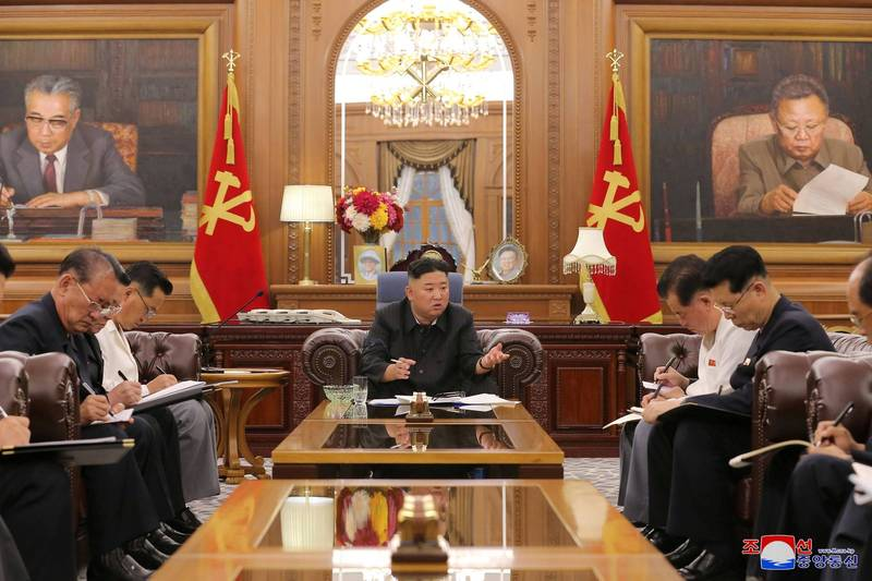 北韓領導人被外界觀察到變瘦了。(路透)