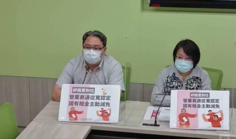 民進黨立委黃世杰(左)、劉世芳(右)。(記者謝君臨翻攝)