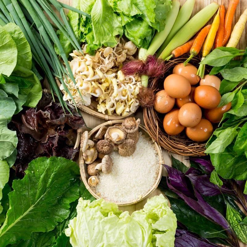 宜蘭防疫組合箱-宅宅天菜蔬菜箱。(新北農業局提供)