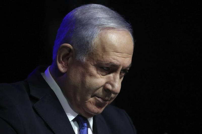 以色列總理納坦雅胡(見圖)12年執政恐將終結,以色列議會今(13)日將進行信任投票,在野政黨聯手要拉他下馬,反對派已提前在耶路撒冷的總理官邸外慶祝。(美聯社資料照)