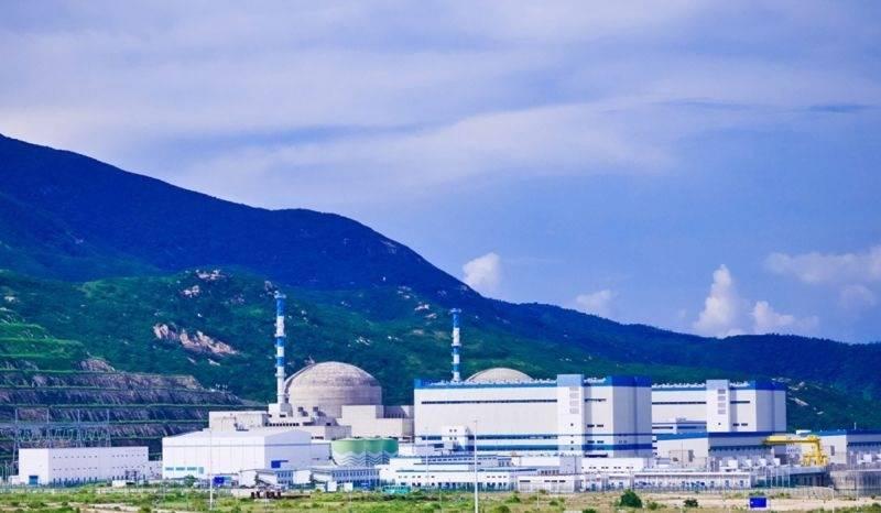 中國廣東省台山核電廠驚傳輻射外洩。(圖翻攝自中廣核官網)