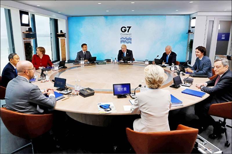 G7峰會落幕,聯合公報提出對武漢肺炎疫情強化「問責」,明確呼籲世界衛生組織(WHO)下一階段在中國對疫情的溯源工作需及時、透明,要求進行全面徹底的調查。(法新社)