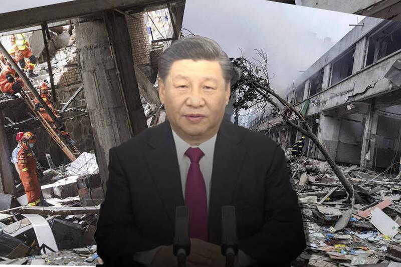 湖北省宣布,意外造成死亡人數已增至25人,現場搜救行動也仍在持續。(本報合成)