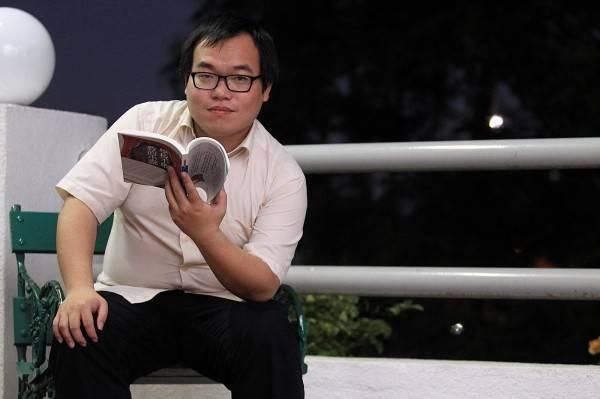 朱宥勳透過臉書狂酸,柯文哲終於在今天發現大家去年就知道的事了,證明柯文哲還是有學習能力。(圖取自臉書「朱宥勳」)