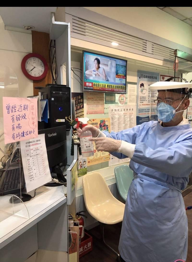 台北市粱耳鼻喉科診所院長楊境森。(楊境森提供)