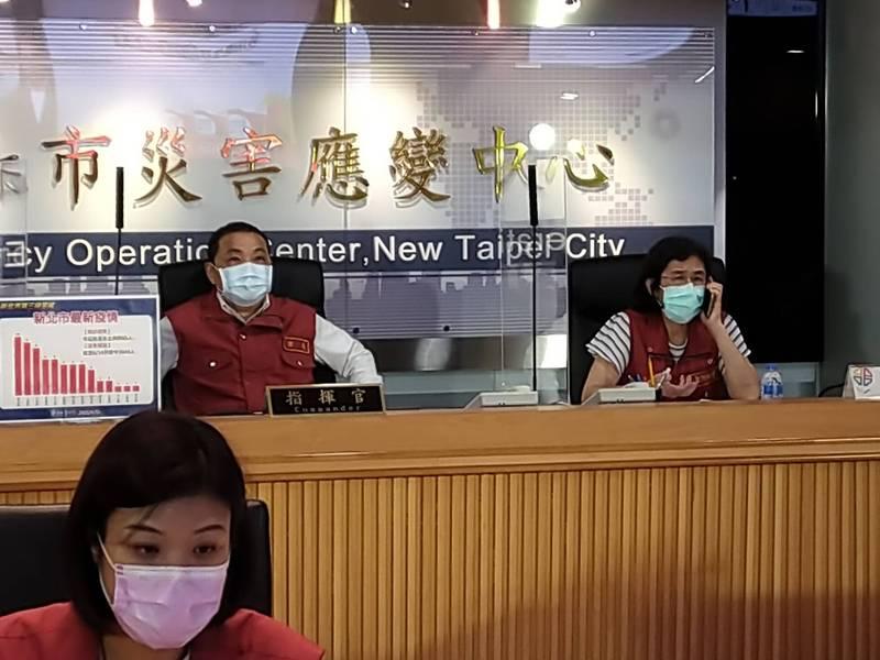 侯友宜表示,金山6人確診為疫調查出為家族群聚感染。(新北市新聞局提供)