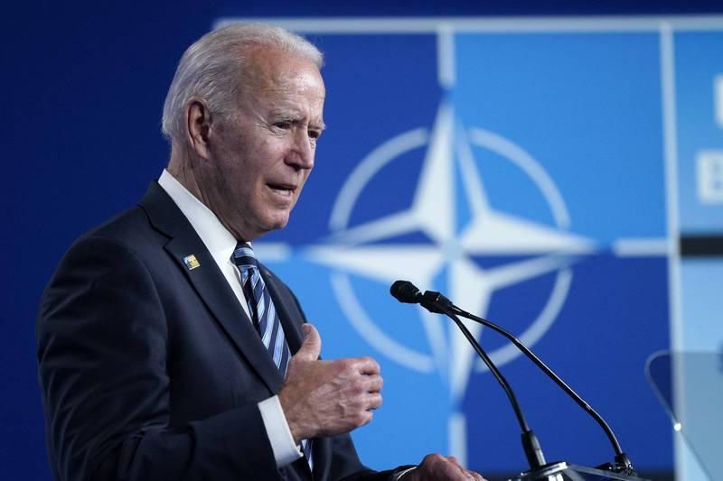 美國總統拜登說,針對中國對國際安全構成的系統性挑戰,北約將會強化世界各地基礎設施韌性,並加強與印太區域民主夥伴的合作,因應區域挑戰。(美聯社)
