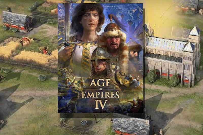 世紀帝國4》目前已經開放預購,將於10月28日上市。(圖取自官網「ageofempires」,本報合成)