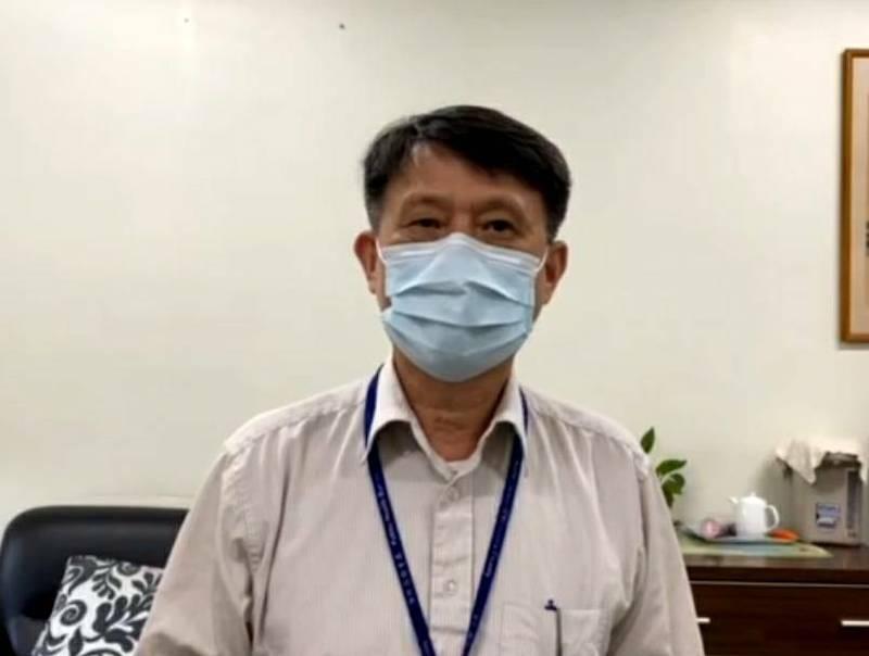 新竹縣政府衛生局長殷東成表示,針對竹東97歲阿婆在接種疫苗返家後猝死,縣府正蒐集相關資料請勘驗單位釐清死因。(新竹縣政府提供)