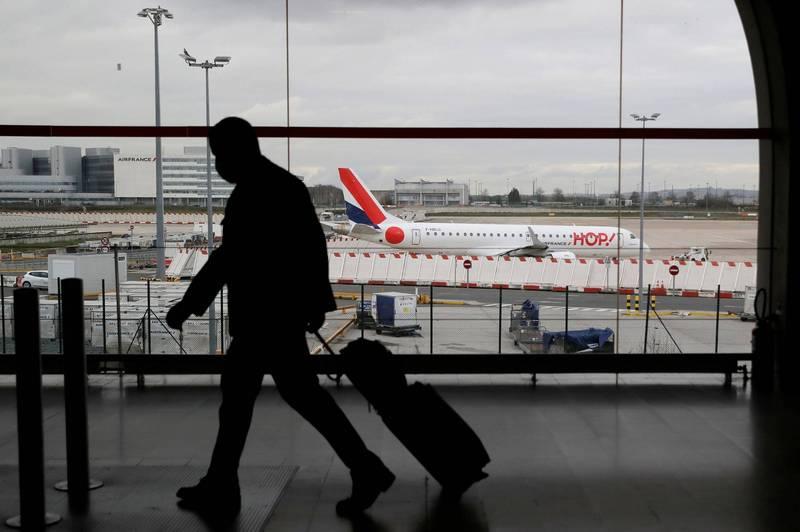 歐盟官員透露,本週末將正式宣布對台灣解除旅行限制。示意圖。(法新社)