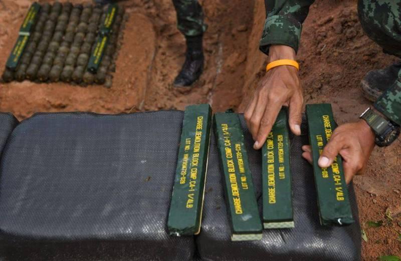 美國加州第29棕櫚樹海軍陸戰隊基地今年1月發生C4炸藥遺失事件,足足10磅(約4.5公斤)的C4炸藥憑空消失。圖僅示意。(法新社)