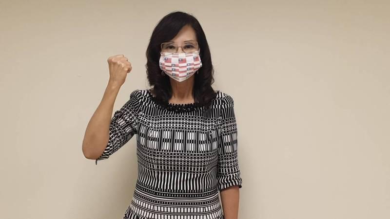 北市議員秦慧珠今直言「議員不宜列優先施打對象」,因疫苗資源稀少,若先施打恐被抨擊特權,當前「染疫風險只能自己承擔。」(翻攝北市議員秦慧珠臉書)