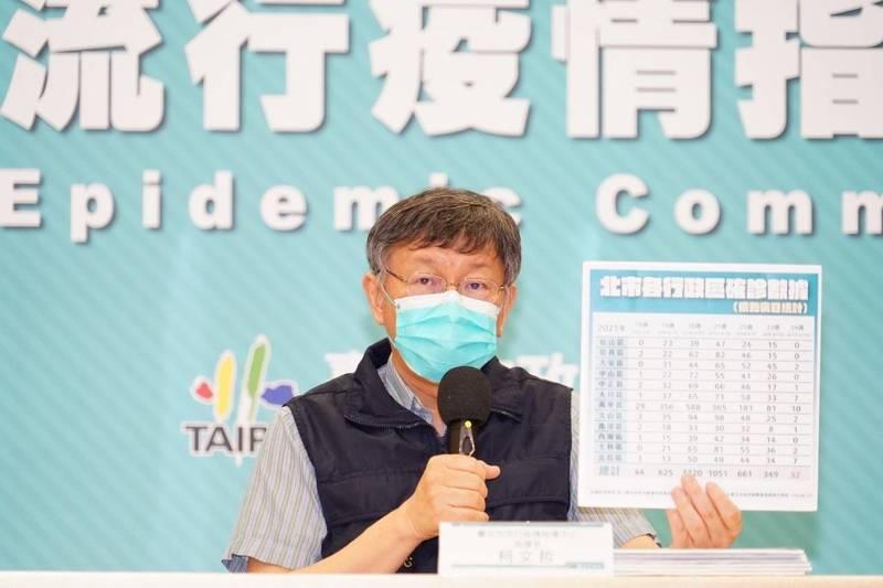 捷克布拉格市長賀吉普來信關心台灣疫苗短缺,希望予以協助;柯文哲今表示,布拉格市長曾在台灣當過實習醫生,受到友善相待,使他對台灣特別友善,而捷克作為歐盟成員,一定也有國際社會力量。(北市府提供)